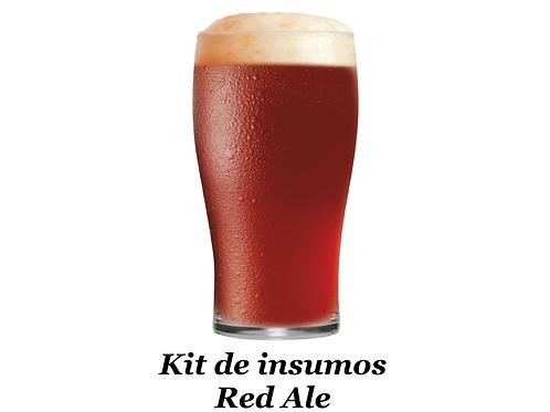 Receita Red Ale - 20 litros