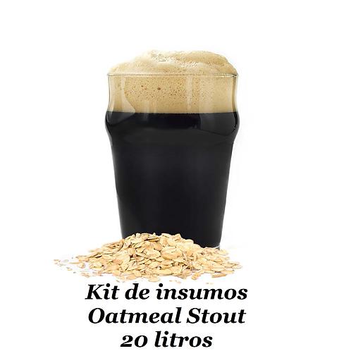 Receita Oatmael Stout - 20 litros