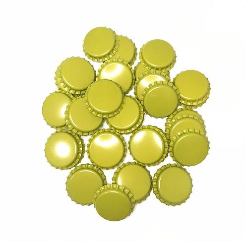 Tampinhas de garrafa Amarela(PryOff)