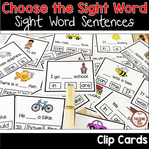 Use these literacy word work activities to practice sight words and beginning reading skills in school or at home.