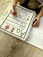 Toddler Busy Book ABC Activity