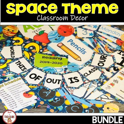 Space Theme Classroom Decor for Back to School