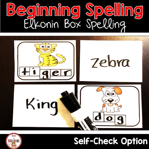 Sounding out words and learning to spell is important word work practice to improve literacy.
