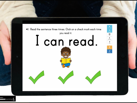 Teaching Tip for Teaching Emergent Readers (while Distance Learning)