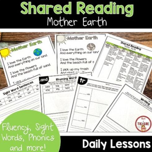 Shared Reading Earth Day Poem Kindergarten