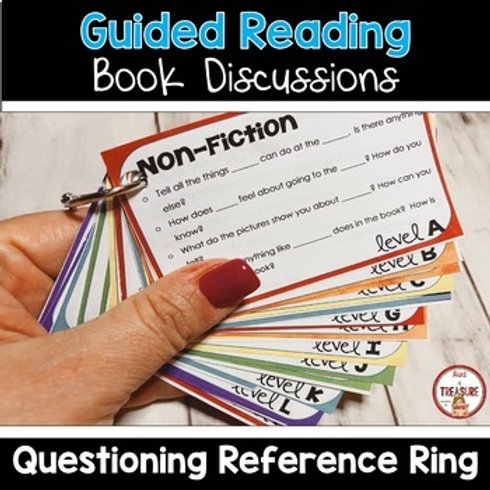 Guided Reading BAS Level Questions for Teachers
