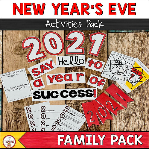 New Years Activities are fun for kids to do as they ring in the new year.