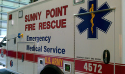 Sunny Point Fire Rescue Decal