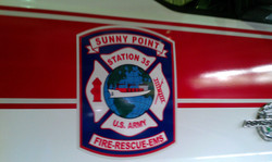 Station 35 Fire Truck Decal