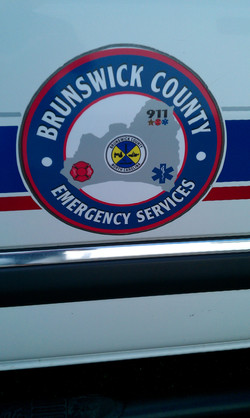 Brunswick County Emergency Decal