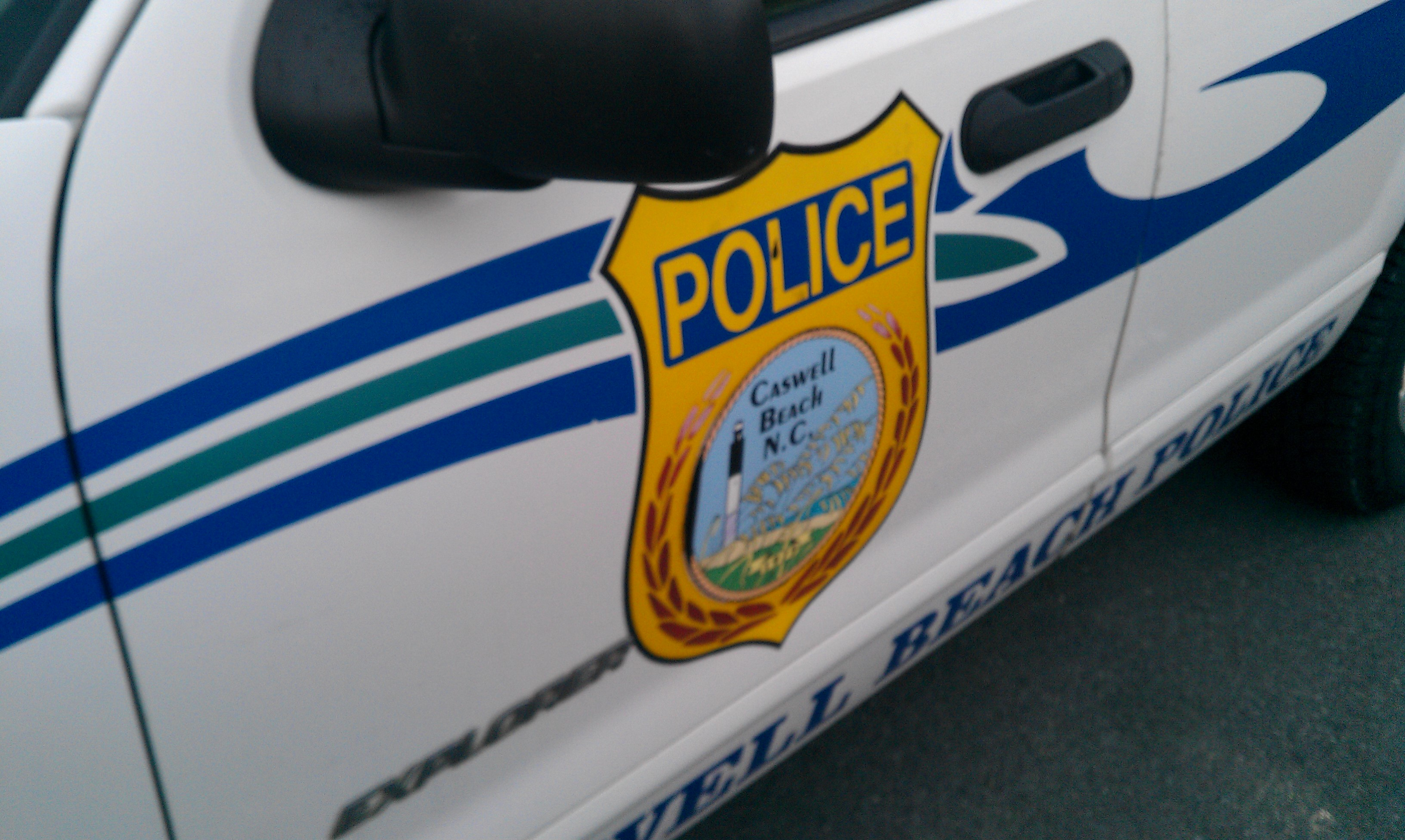 Caswell Beach Police Decal