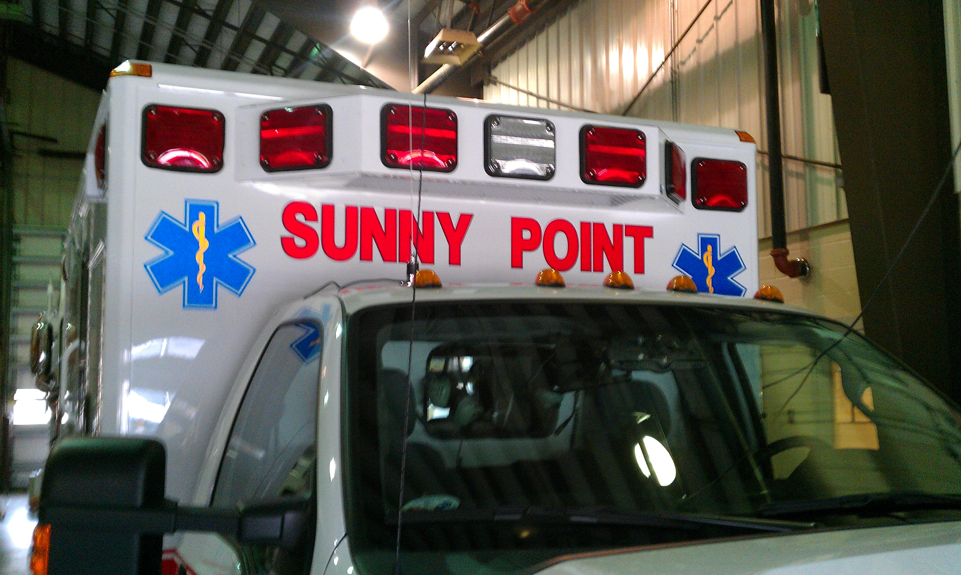 Sunny Point Ambulance Decal