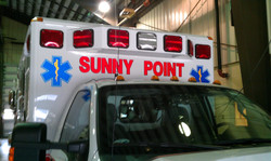 Sunny Point Ambulance Decal