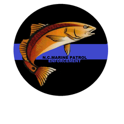 NC Marine Patrol Enforcement Decal