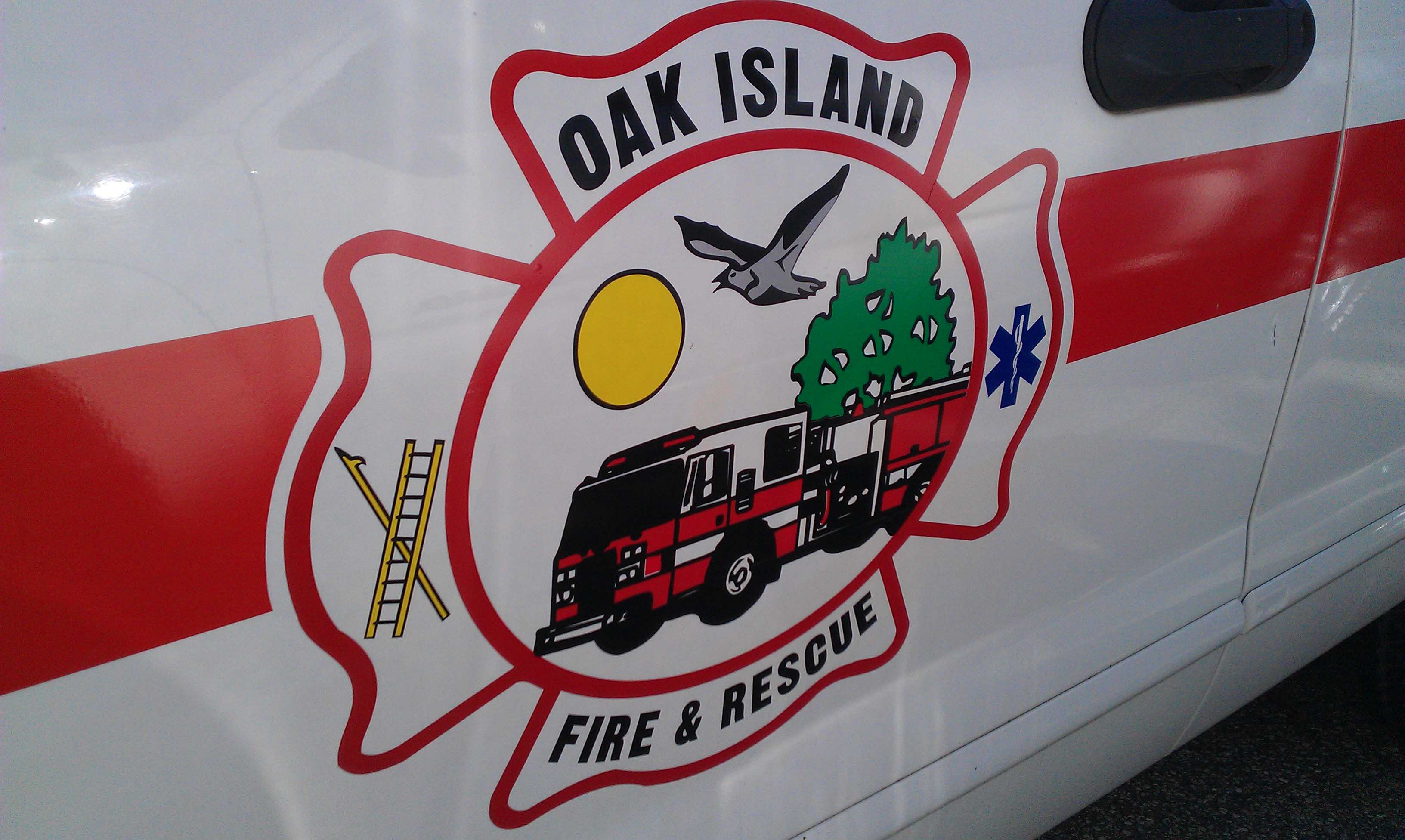 Oak Island Fire & Rescue Decal