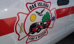 Oak Island Fire & Rescue Decal