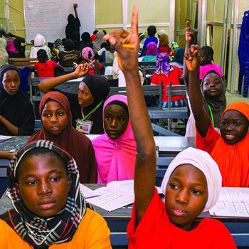 難民に教育の機会を
