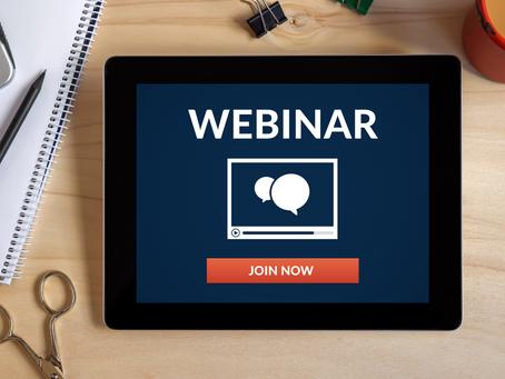Webinar: 3 appuntamenti per scoprire potenzialità e vantaggi