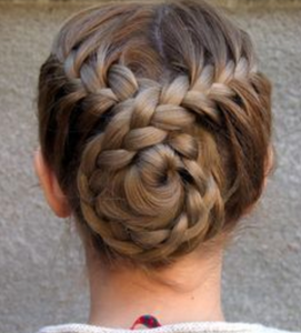 dance competition hairstyle ideas