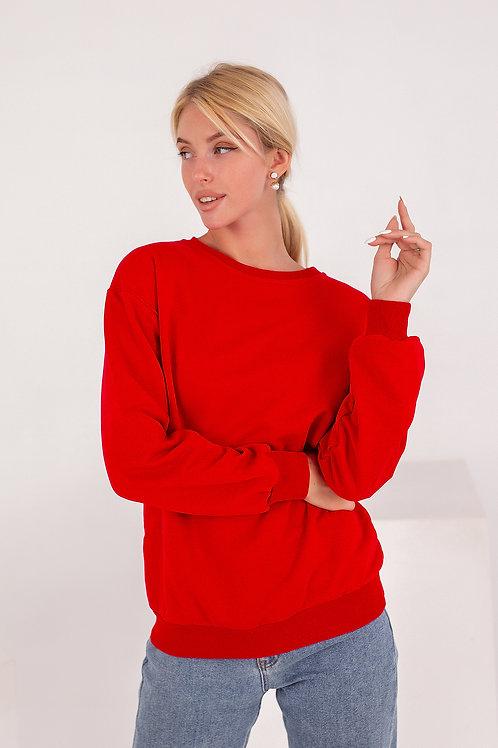 Женский свитшот FINKA Красный