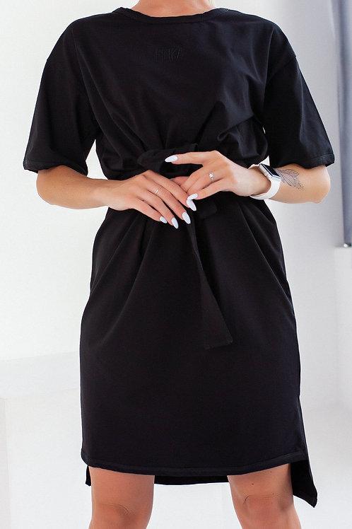 Платье FINKA Oversize Черное