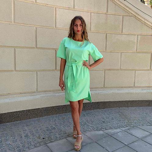 Платье FINKA Oversize Яблоко