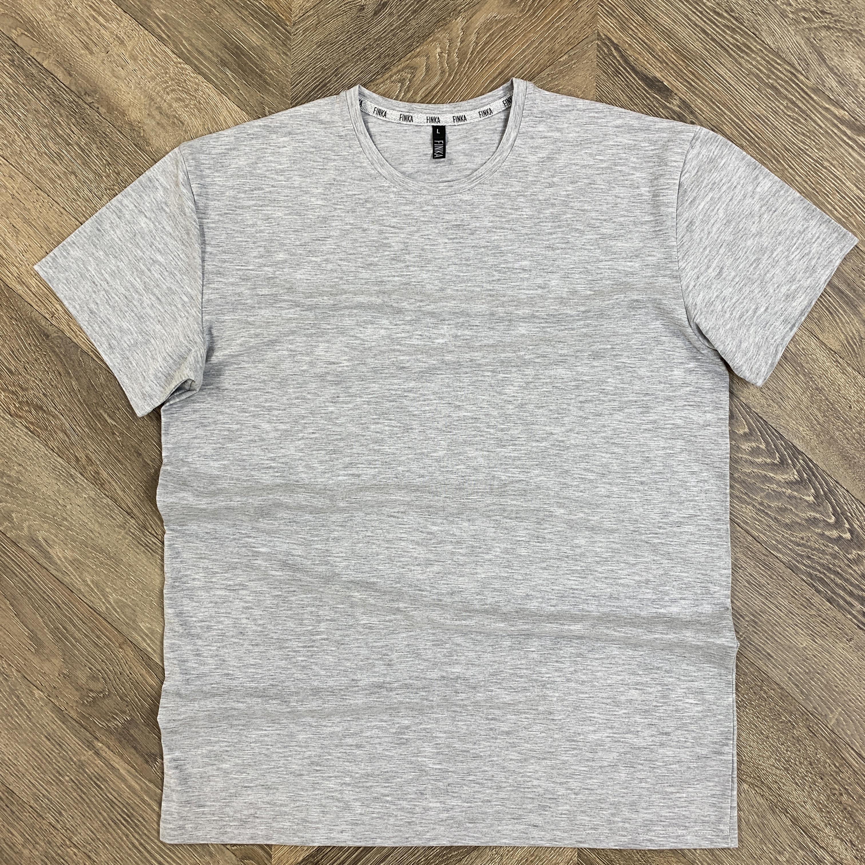Мужская футболка (Серый меланж)