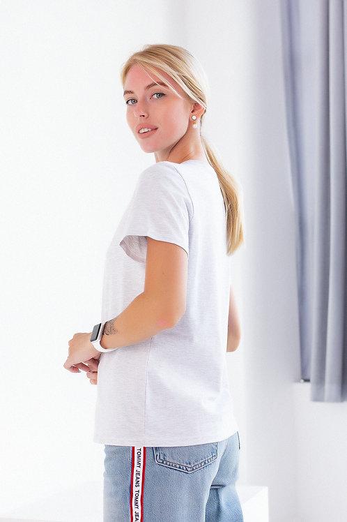 Футболка FINKA Standart серый меланж