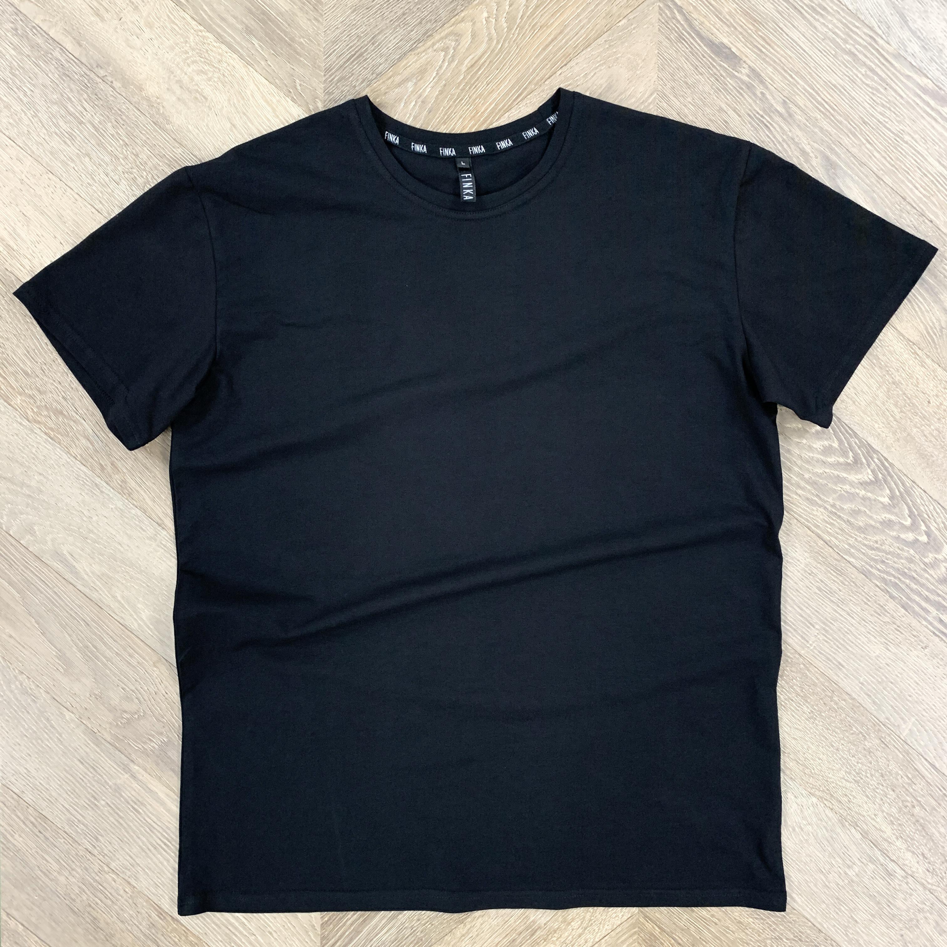 Мужская футболка (черная)