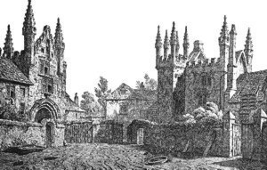 Tavistock Abbey 1837