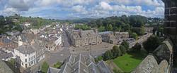 Aerial view of Tavistock Town