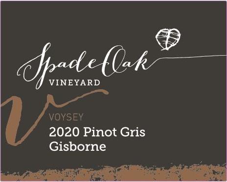 2020 Voysey Pinot Gris