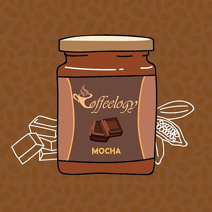 Mocha Coffee Jar
