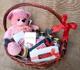 Valentine's Day Adorable Gift Basket - Big