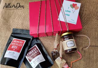 Irresistible Valentine's Day Dessert Gift Hamper - Sugar Free ( 3 Jars )