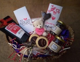 Valentine's Day Adorable Gift Basket - Small