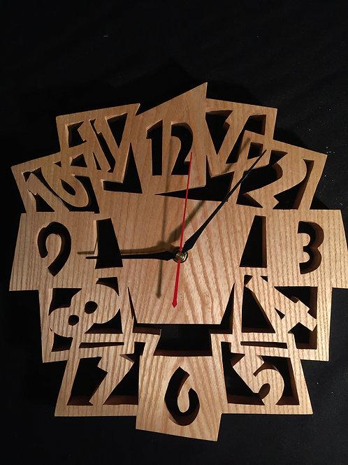 Horloge chantournée 45 cm