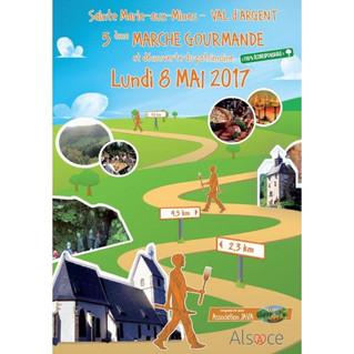 Marche gourmande le 8 mai à Sainte Marie aux Mines
