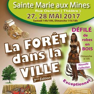 La Forêt dans la ville à Sainte Marie aux Mines