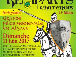 Fête des Remparts à Châtenois le 11 juin 2017