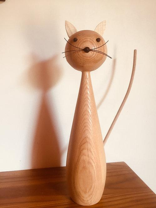 Chat décoratif tête ronde