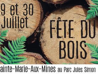 Fête du bois le 29 et 30 Juillet à Sainte Marie Aux Mines