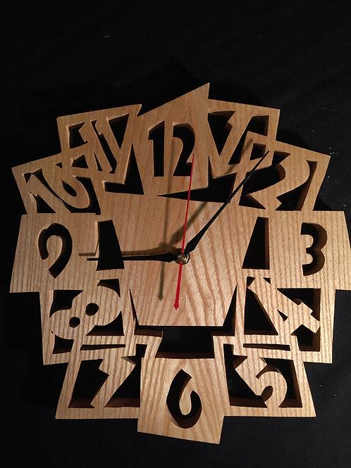 Horloge chantournée 32 cm