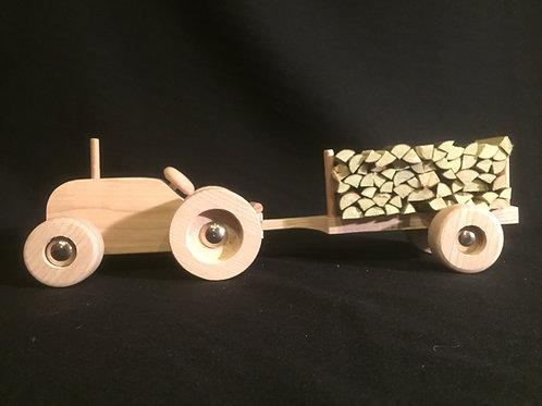 Ensemble tracteur + remorque