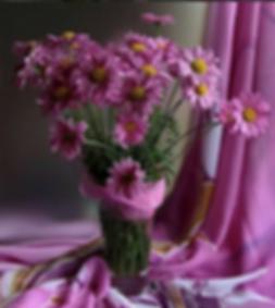 Margaritas, arreglo floral
