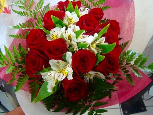 12 rosas en coreano.
