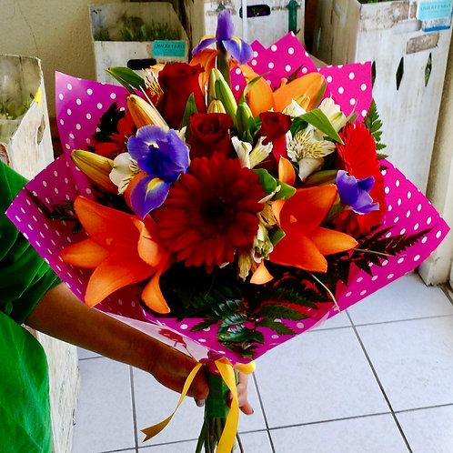Bouquet en coreano