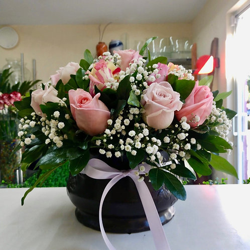 Rosas pastel.