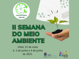 CODAI realiza a 2ª Semana do Meio Ambiente