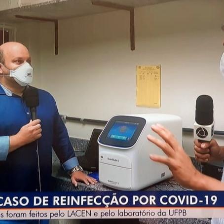ETS-UFPB ajuda a identificar o primeiro caso de reinfecção por Covid-19 no Brasil
